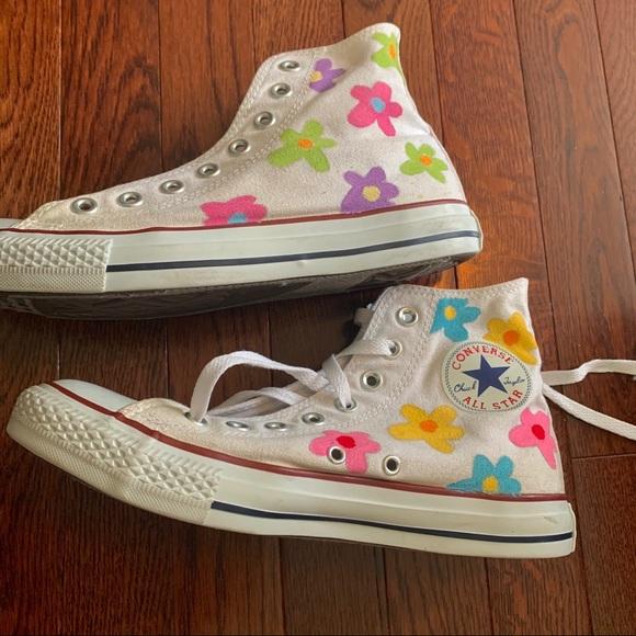 Golf Wang Shoes Painted Golf Le Fleur Converse Tyler The Creator Poshmark